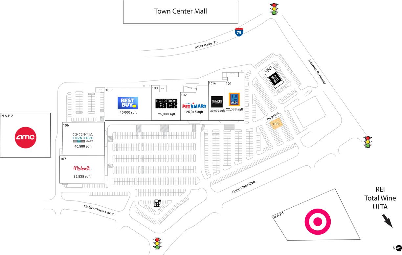 Downtown Atlanta Shopping Map | Wiring Diagram Database on