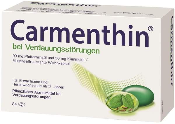 Carmenthin Bei Verdauungsstorungen 84 Magensaftresistente Kapseln Kauf Volksversand Versandapotheke