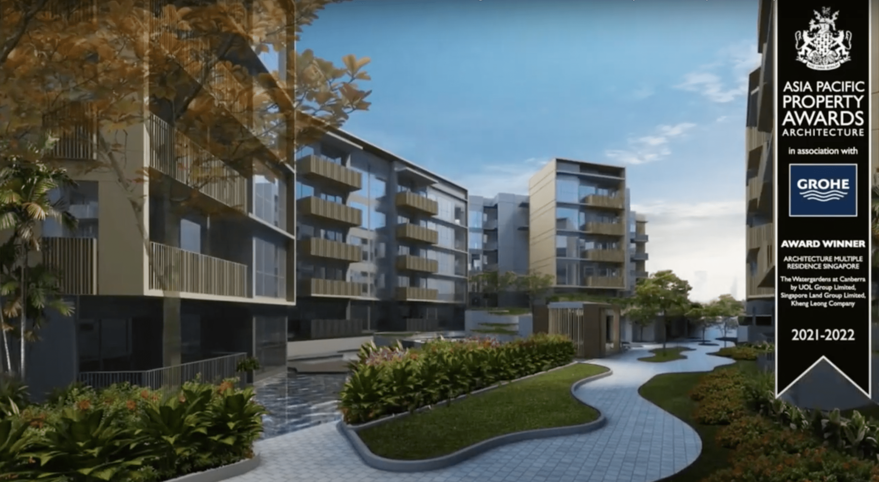 The Watergardens at Canberra New Launch 2021 landscape view 4