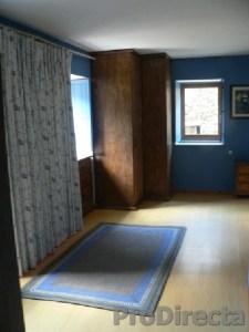 Bedroom – Custom made English Cotton Lined Drapery, Custom made Rug and