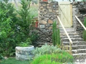 Front Yard – Custom Made Wood Side Entry Door