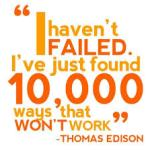 Thomson Edison Quote