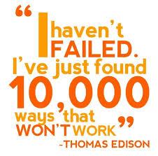Thomson Edison Quote