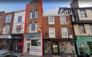 Tewkesbury Grade II listed High Street site going under auction