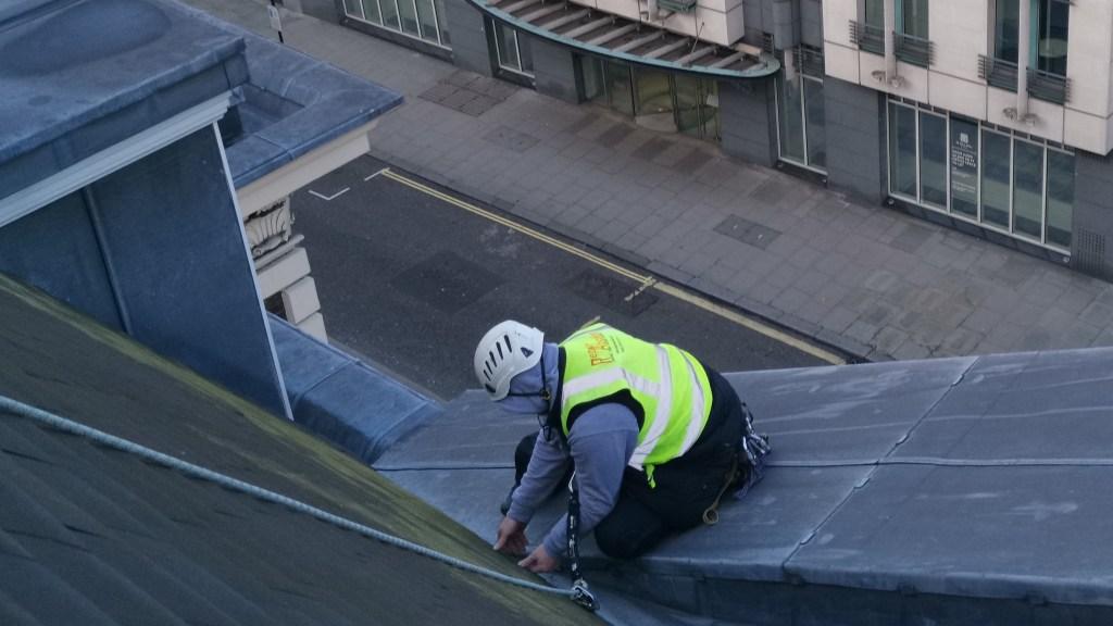 tiled roof repair