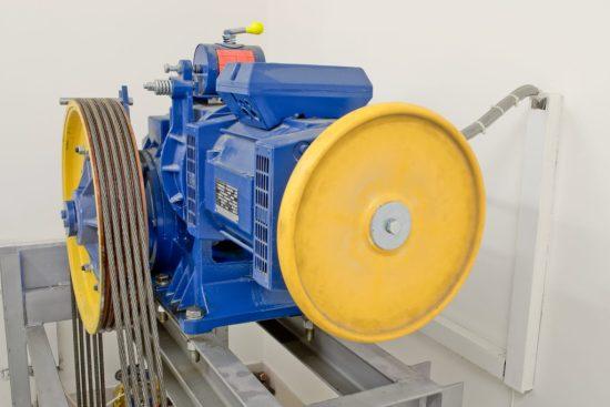 Elevator Motor After Elevator Modernization