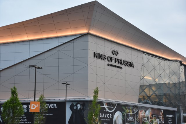 Entrance To The King of Prussia Mall America's Largest Shopping Malls