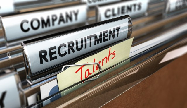 Drawer With Tabbed Folders For Talent And Recruitment At Top Apartment Staffing Companies