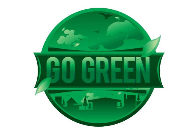 Go Green Logo For 9 Green Property Management Initiatives for 2019
