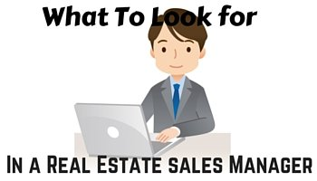 real estate sales manager