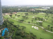 Manila Golf view from the 27th floor