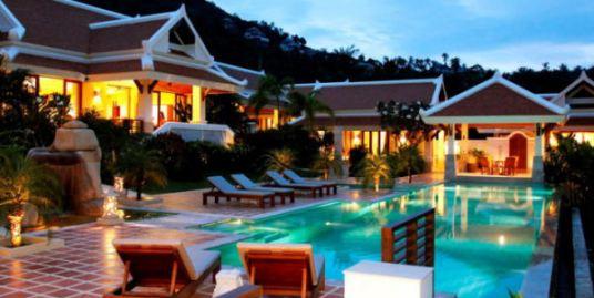 Luxury Hillside Villa for sale, Bophut, Koh Samui