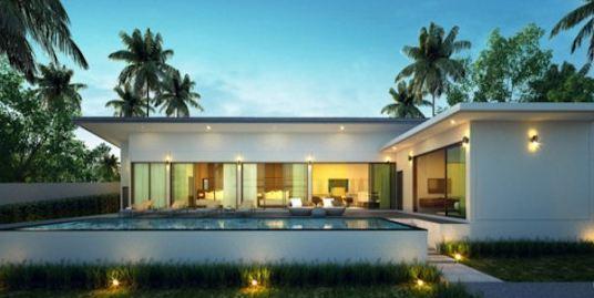 New Modern 2/3 Bedroom Villas Maenam