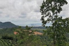 Cheap sea view land for sale in Na Muang on Koh Samui
