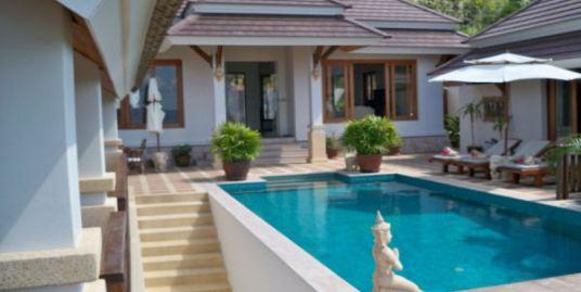 Furnished Sea View Villa for sale in Bophut, Koh Samui