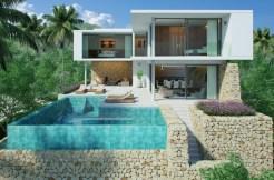 Bophut Sea View Modern Style Samui