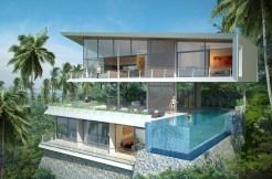 "New Contemporary Seaview Villa ""Oasis"" Lamai Koh Samui"