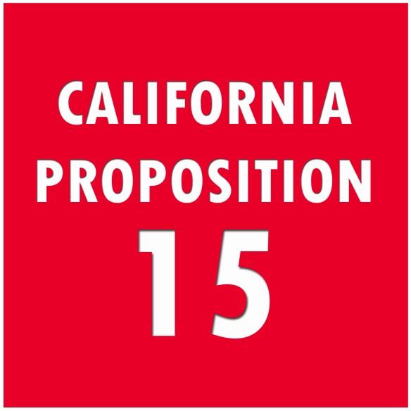 California Proposition 15