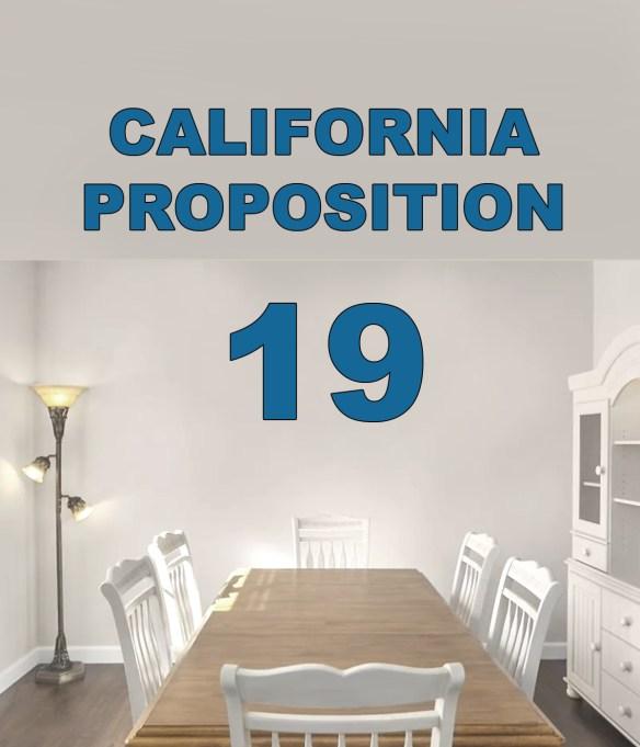 California Prop 19 Property Tax Transfer