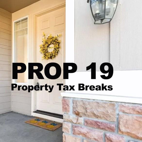 Prop 19 Property Tax Breaks