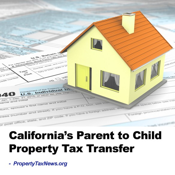 California Parent to Child Property Tax Transfer