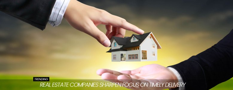 real estate developers focus on timely possession
