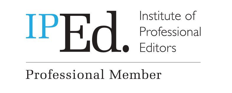 Professional Member of the Institute of Professional Editors