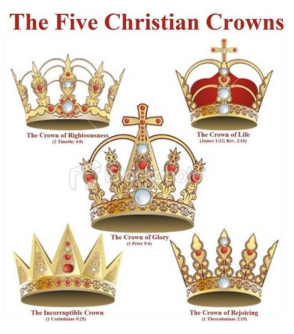 five christian crowns