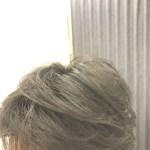 ヘアコンタクトでヘアセット…ワックスつけていいと?