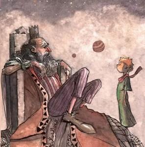 Десятая глава Маленький принц на польском языке