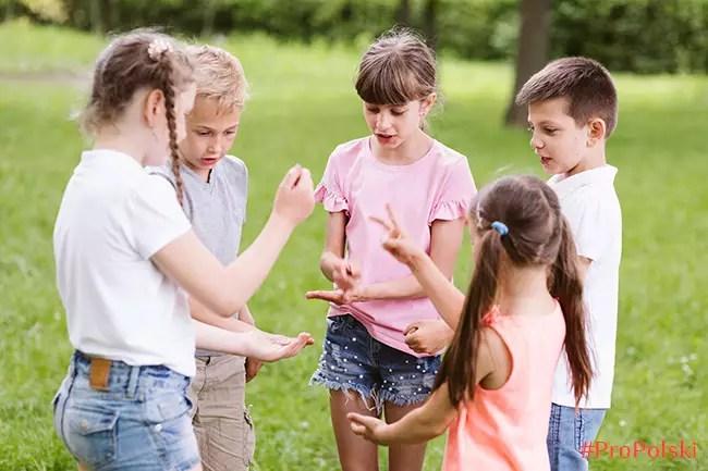 Детские считалки на польском языке