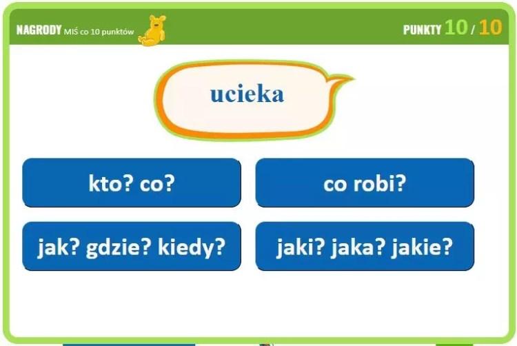 Детская игра для изучения польского языка
