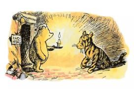 Винни-Пух на польском языке, вторая книга, глава 2: чтение