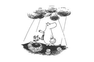 """Muminki / """"Муми-тролль и комета"""" на польском, чтение, главы 1-2"""