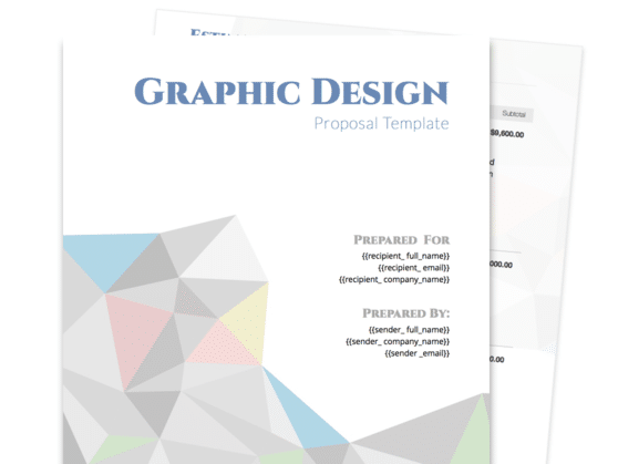 Design Proposal Template Free Samples Proposable