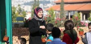 Hanan, es la ganadora del Teacher Global Prize, con su método pedagógico centrado en la Paz.