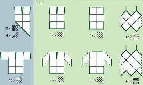 Что можно сделать из квадратных мотивов