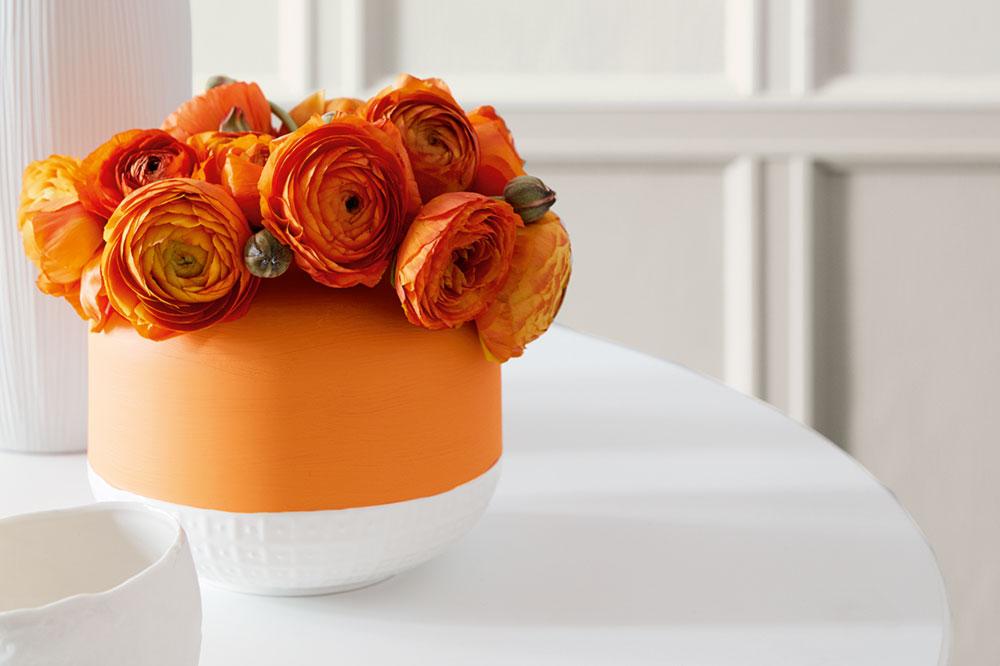 Couleurs et matières : Inspiration orange
