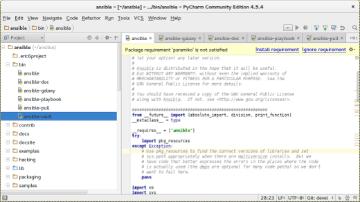 PYCHARM Python GUI Libraries