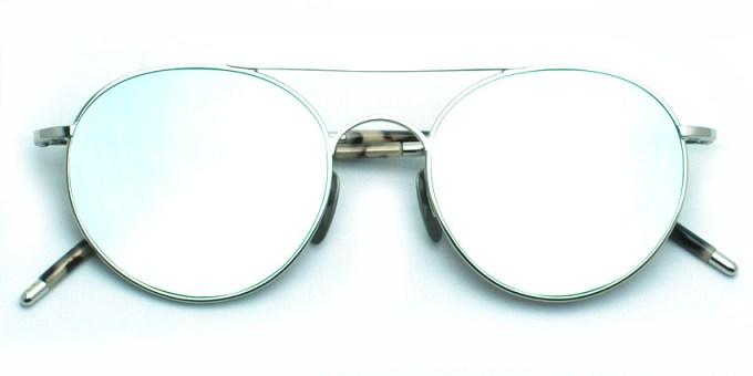 A.D.S.R. / MILES05 / Silver - Lt.Blue MIrror /  ¥21,000 + tax