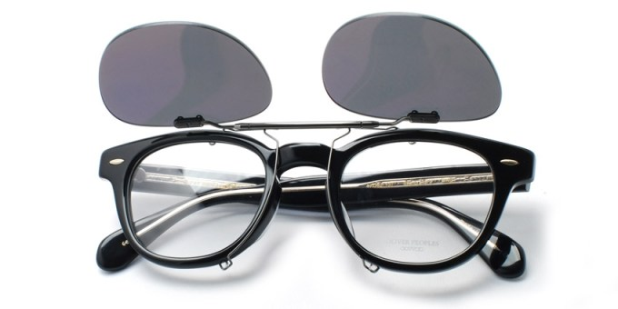 OLIVER PEOPLES / SHELDRAKE Clip / ¥14,000 + tax