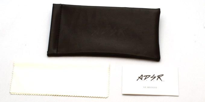 A.D.S.R. soft case & GUARANTEE CARD