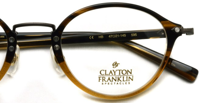 CLAYTON FRANKLIN / 595 / HB  /  ¥32,000 + tax