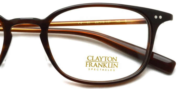 CLAYTON FRANKLIN / 743 / BS  / ¥29,000 + tax