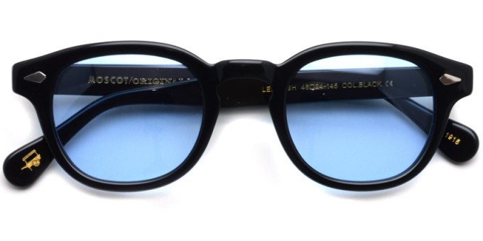 MOSCOT / LEMTOSH Sun / BLACK - BLUE / ¥34,000 + tax