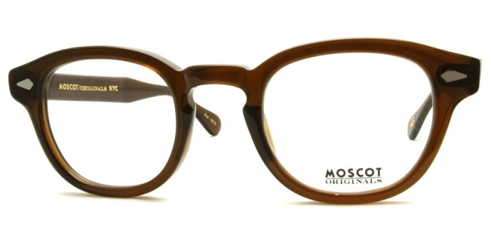 MOSCOT  /  LEMTOSH  /  BROWN  /  ¥27,000 + tax