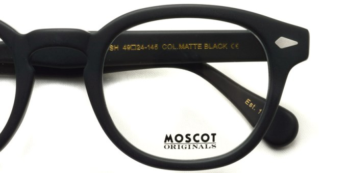 MOSCOT  /  LEMTOSH  /  MATTE BLACK /  ¥27,000 + tax
