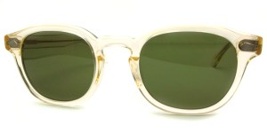 MOSCOT / LEMTOSH Sun / FLESH - C.A.GREEN / ¥30,000 + tax