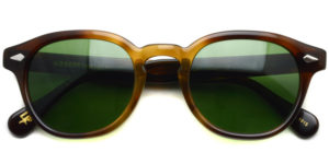 MOSCOT / LEMTOSH Sun / TOBACCO - C.A.GREEN / ¥34,000 + tax