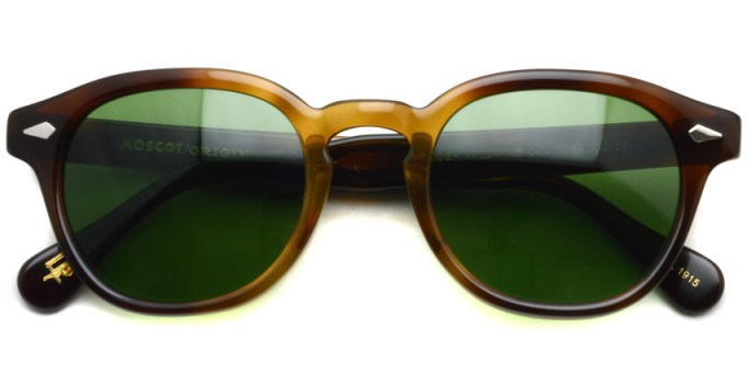 MOSCOT / LEMTOSH Sun / TOBACCO - C.A. GREEN / ¥30,000 +tax